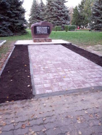 Памятник в Городце 1