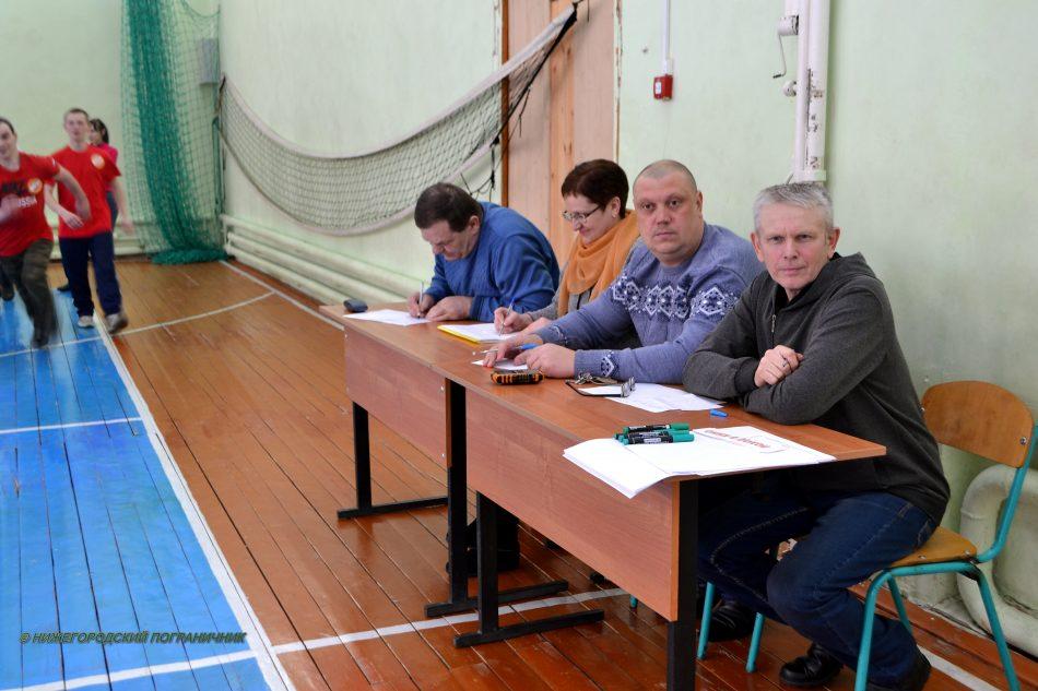 В составе жюри конкурса представители Ветлужского отделения НОООВ «Нижегородский пограничник»