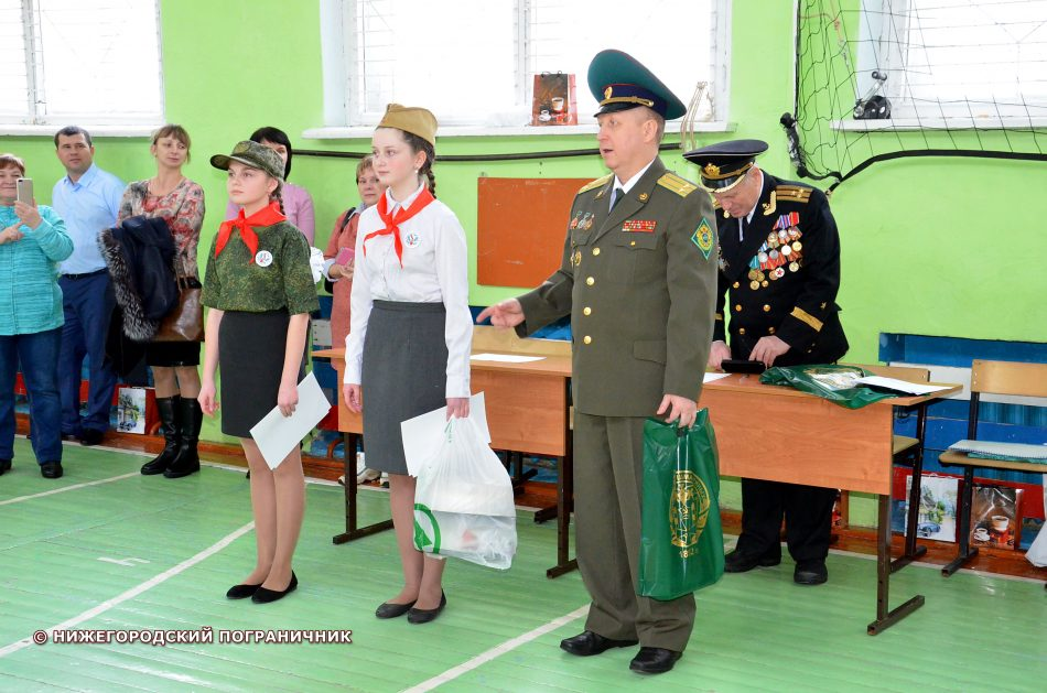 Выступление Шмагрина М.Ю. и награждение лучших командиров