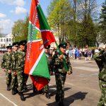 Варнавинские пограничники на Параде Победы