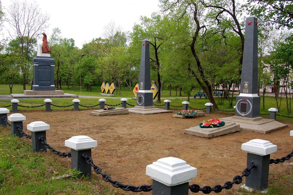 Памятник Краскину М.В.