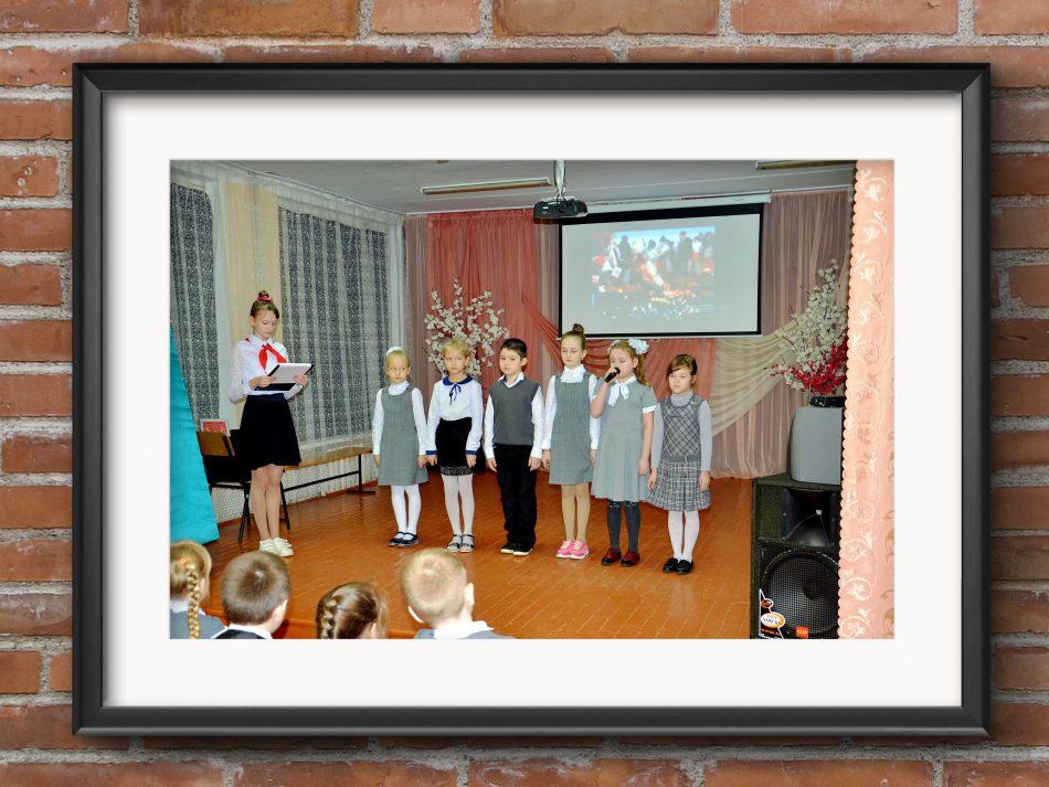 Выступление младшего класса