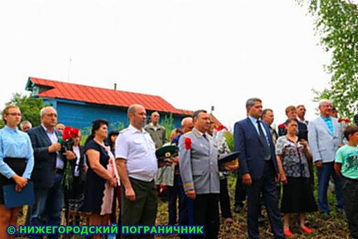 Открытие Поклонного Креста и пограничного знака в д. Новинки